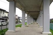 高架橋橋脚の耐震補強