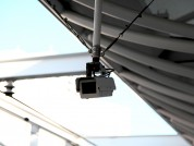 防犯カメラの設置1