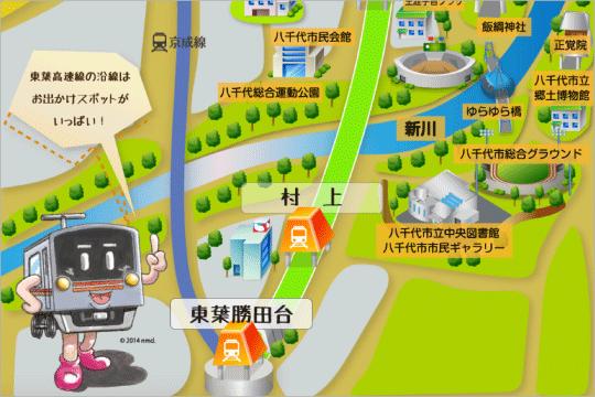 沿線マップ